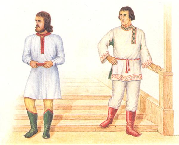 Русская одежда до XVIII столетия