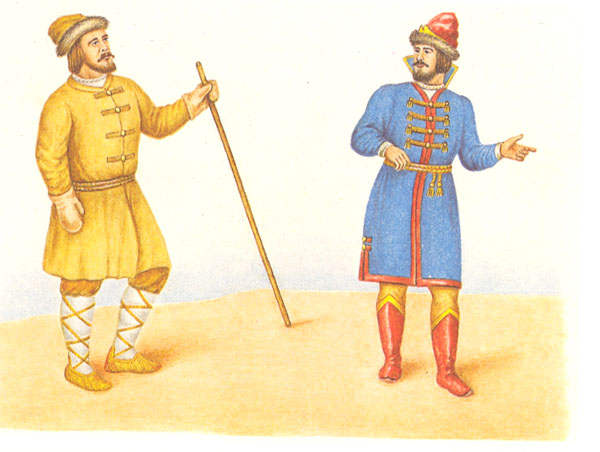 Азям и кафтан