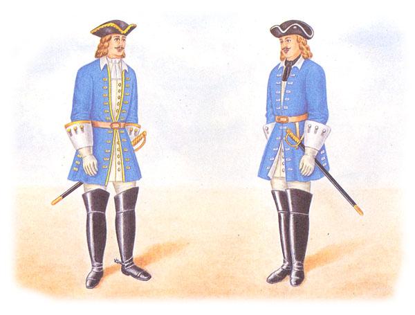 Драгуны (офицер и рядовой)