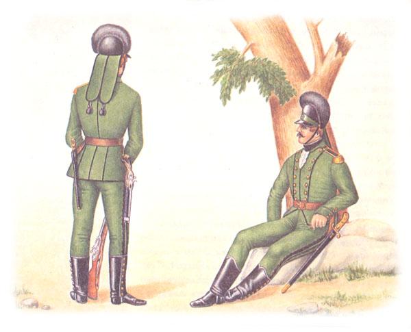 Егеря (рядовой и сержант)