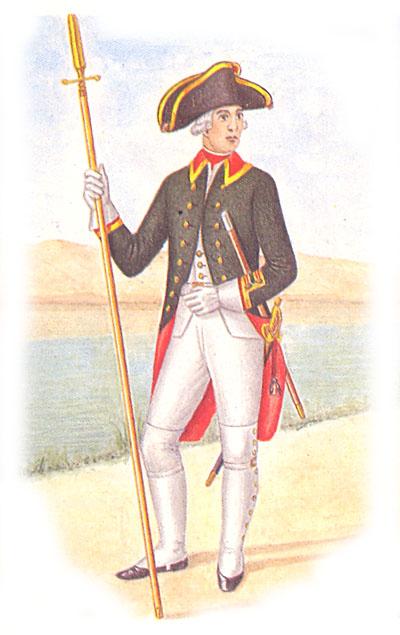 Унтер-офицер лейб-гвардии Преображенского полка