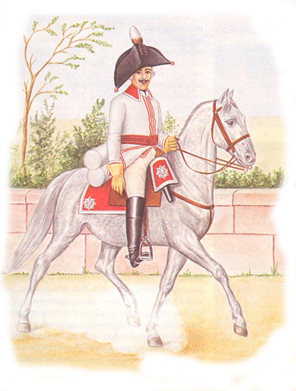 Рядовой кавалергард