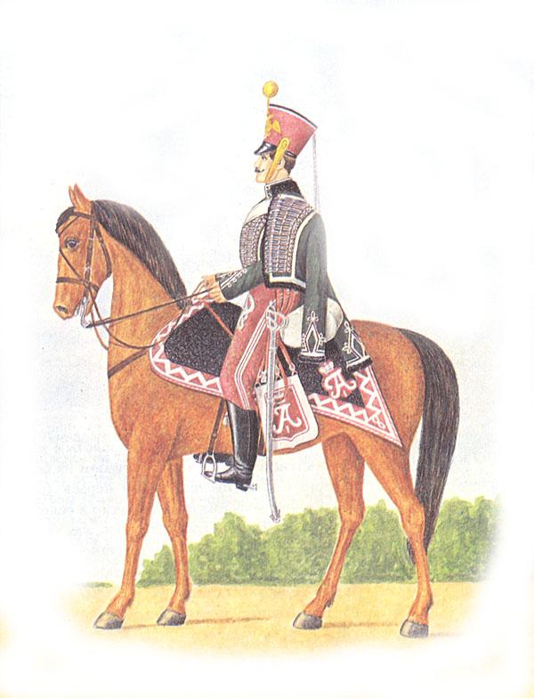 Рядовой лейб-гвардии Гродненского гусарского полка