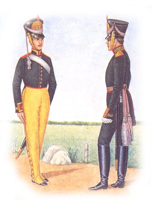Юнкер и обер-офицер артиллерийского училища