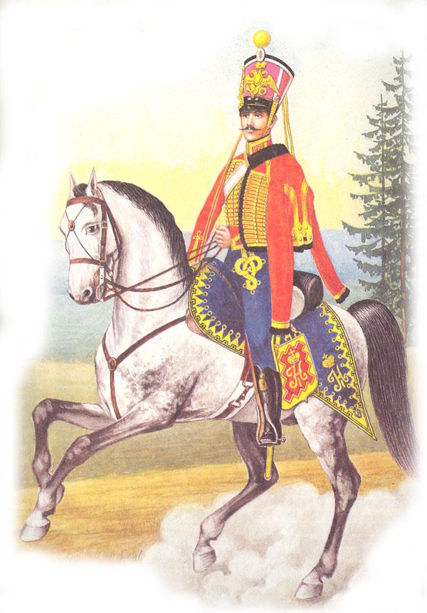 Рядовой лейб-гвардии Гусарского полка