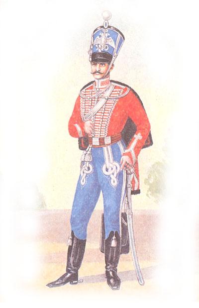 Обер-офицер лейб-гвардии Гродненского гусарского полка