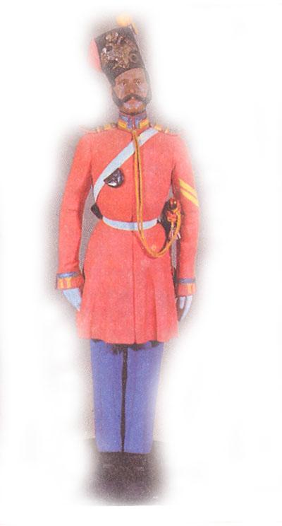 Старший урядник лейб-гвардии Казачьего полка