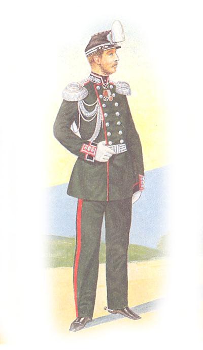 Штаб-офицер Гвардейского генерального штаба в парадной форме