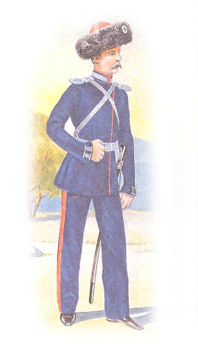 Обер-офицер Донского войска в парадной форме