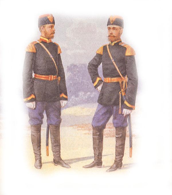 Форма одежды музыкантов драгунских полков