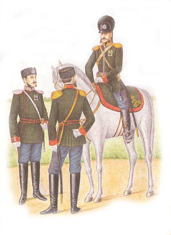 Форма одежды гвардейской кавалерии (приказ по военному ведомству 1882 г. № 86)
