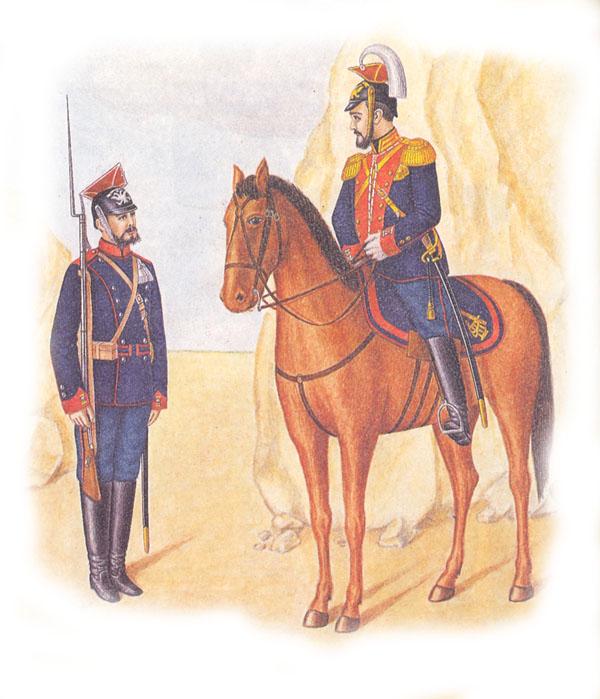 Форма одежды гвардейских улан