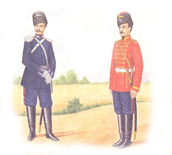 Форма одежды степовых казачьих войск