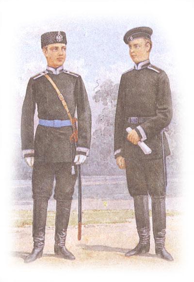 Форма одежды юнкеров военных училищ