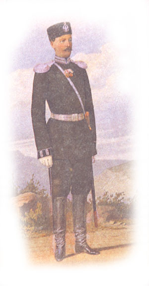 Форма одежды офицеров военных училищ