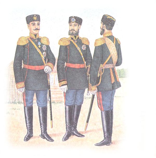 Общегенеральская форма одежды (приказ по военному ведомству 1882 г. № 225)