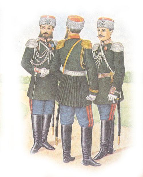 Форма одежды свиты Его Величества (приказ по военному ведомству 1882 г. № 25)