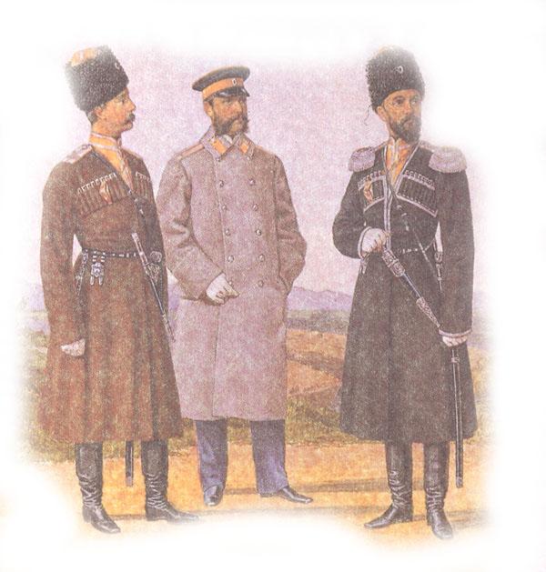 Форма одежды офицеров Туркменского конного дивизиона