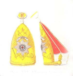 Шапка (гренадерка) лейб-гвардии Павловского полка