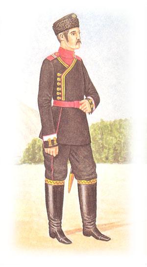Унтер-офицер 4-го Стрелкового Императорской Фамилии полка