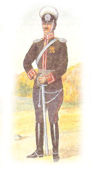 Обер-офицер лейб-драгунского Псковского полка