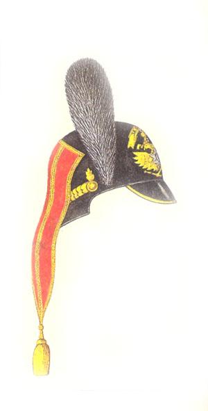 Каска лейб-гвардии Конно-гренадерского полка