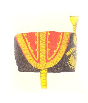 Гусарская генеральская шапка к обыкновенной форме