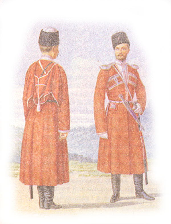 Форма одежды Дагестанского конного полка