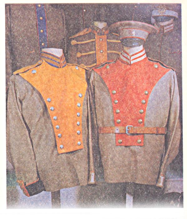 Унифицированная (парадная и походная) форма одежды