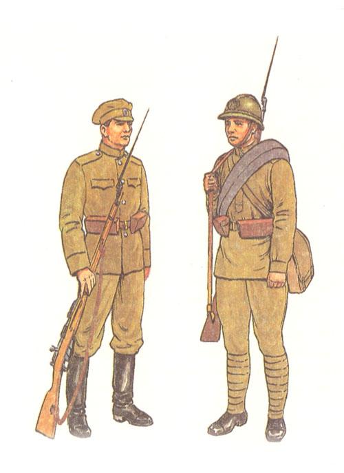 Летняя походная форма 1914 г.